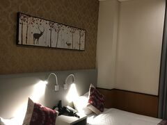 ホテルです。 駅近で立地もよくお手頃でなかなかよかったです。