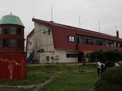 サイロ展望台 修学旅行生のような団体の観光客も、訪れていました。