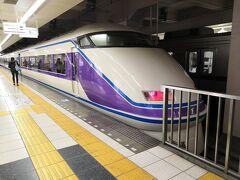東京駅からメトロに乗って東武の浅草駅まで来ました。