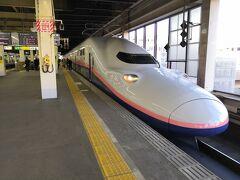 2020年3月に廃止予定のMAXときに記念乗車するため、北本駅から北上して熊谷駅へ。