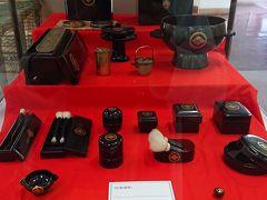 松前城内の展示物です。