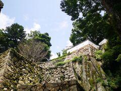 現存12天守の1つ、備中松山城。 松山城は伊予も備中もどちらも眺めも素晴らしく好きな御城です。