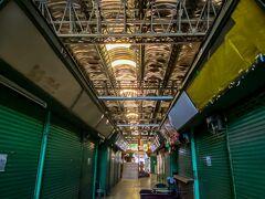 ◆閑散とした朝のナイトマーケット