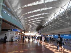 朝8時半ごろの羽田の出発ロビーの様子です。 ロビーは乗客でごった返しているという状態 ではありません。 羽田空港の復活はまだ途上の様です。 まだ新型肺炎コロナは収束していないので 元通りにはなっていません。