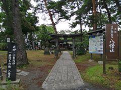 長野市に入り、川中島古戦場史跡公園へ。