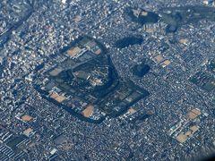 眼下に姫路城。