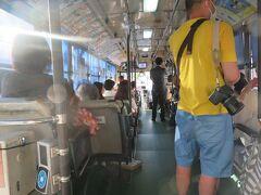 17:57 稲佐山行きのバスに乗って