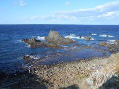 空気が澄んでいるときは水平線の向こうに 樺太(サハリン)の島が見えるそうです。