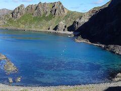 礼文島散策 澄海岬→スカイ岬とよみます とても綺麗な海でした