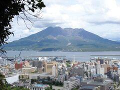 城山公園から桜島の眺め