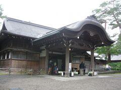 次は日光田母沢御用邸記念公園です。パスポート利用。