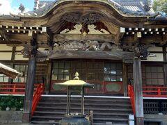 チェックアウトして、近くにある清雲寺にやってきました。 平日の朝だったからか、私たち以外には誰もいなくてとても静かでした。