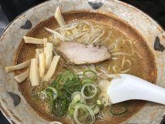 名古屋に戻り八龍で味噌ラーメンの夕ご飯