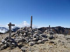野口五郎岳に登頂。5年ぶり2回目です。