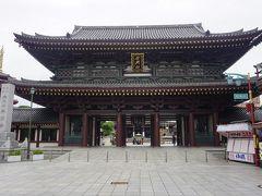 ●大山門@川崎大師  一番最初に目に入ってくるのが、大山門。 開創850年の記念事業として昭和52年に創建された門です。
