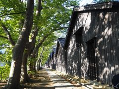 <山居倉庫> 酒田で一番行きたかった場所です。