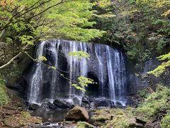 どことなく品があるいい滝です。 滝音やイオンが疲れた体に染み渡るようです。この後、福島編②に続きます