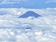 毎度おなじみの富士山の写真です。 3週連続でご対面できて有難いですね