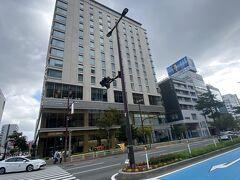 天神駅から徒歩で 「ホテルモントレ福岡」へ