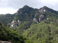 山梨県随一の名勝、昇仙峡です!  道からも素晴らしい眺望が望めます。