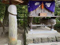 それから八重垣神社へ~ 時間の関係で池で紙を浮かべるやつはできませんでした。。泣