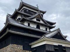 どーん。  松江城は国宝なんですね(*゚∀゚*)