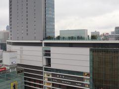 眺望は横浜駅の西口。 昨日、洗車したので雨(笑)