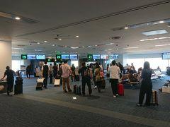 本日はスカイマークで新千歳空港へ。