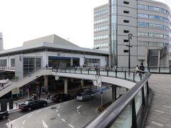 JR藤沢駅からお散歩をスタートします。