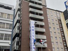 2泊3日の出張の最初のホテルは東横イン博多西中洲です。