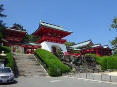唐戸市場から500m、竜宮城のような赤間神宮と隣の日清講和記念館を見学。