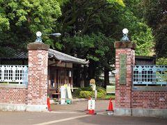 現在の東京藝術大学(音楽部側)の正門 大正3年(1914年)頃に造られた東京藝術大学のレンガ造の正門は、地震に強いものにしつつも、卒業生・地域の記憶に残る姿を維持して、今後100年先に受け継ぐプロジェクトによって再生し、2019年9月に晴れて本来の姿を取り戻したとのこと。この事業は最近はやりのクラウドファンディングによる改修費用の寄付により実施されたということです。