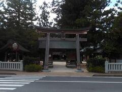 神魂神社の近くにある八重垣神社に向かいました。