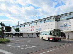 7:53 八高線「小川町駅」から高崎で新幹線に乗り換え30分、「上田駅」に着きました。 7:59 千曲バス青木線乗車。 8:24 当郷バス停着。料金は300円均一です。