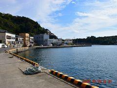 波浮港に到着。
