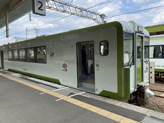 およそ25分ほどで乗り換える野辺地駅に到着。 ここで青森駅行きの電車に乗り換えます。