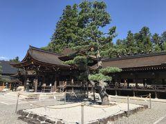 多賀大社は伊勢神宮よりも歴史が古いとも 言われる神社で、古くから長寿祈願の神と して信仰されたそうです。  やはり、車で来る方がほとんどのようで、 駐車場は混雑していました。