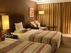 サザンビーチホテルにチェックイン お部屋