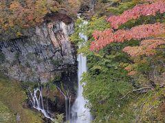 3日目。半月山のバス待ちの時間に華厳の滝。