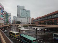 おはようございます。 いつもの仙台駅。 雨ですが、気になる台風14号もどうやら日本を逸れて行くようで一安心。進路によっては中止も考えましたが無事、決行です。