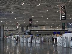 ●成田空港第一ターミナル  あ~静かすぎるターミナル。