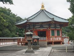 ●新勝寺  聖徳太子堂です。 1992年に建立されたとっても新しい建物です。 平和を願って建てられました。