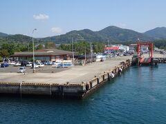 串木野新港を出発します。