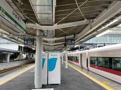 いわき駅には定刻通り11:24に到着です。