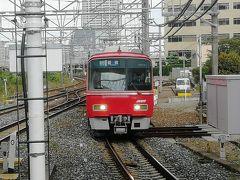 この急行豊橋行きに乗って、隣の堀田駅へ向かいます。 堀田駅までは170円。