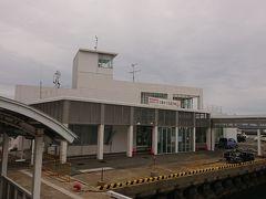 大島港に到着