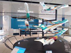 時間になり「あいち航空ミュージアム」へ。初めての訪問。そして憧れの航空機であるYS-11にいよいよ出会える。
