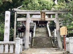 湯前神社には、江戸時代までの熱海の源泉となった「大湯間歇泉」があり、この神社の名称、起源も、そこから名付けられたそうです。