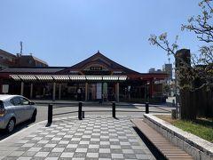 一度太宰府駅に戻ってきました。ここから博多駅行のバスに乗ります。