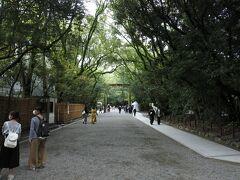 熱田神宮 三種の神器の一つ草薙神剣(くさなぎのみつるぎ)が祀られた神社です。
